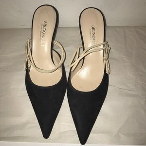 Bruno Magli slingback heels/ OFFERS Welcome